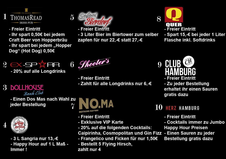 VIP Band Hamburg Clubs als Bild