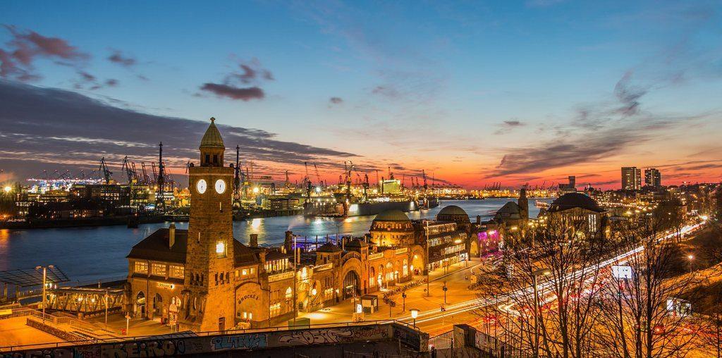 Hamburg, Landungsbrücke, Kurztrip, Hafenrundfahrt