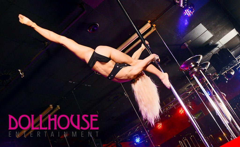 Dollhouse hamburg Reeperbahn Poledance Show
